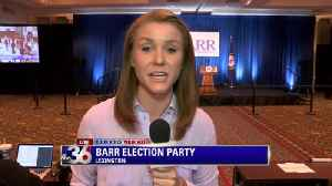 Kelsi Thorud on Andy Barr's watch party [Video]