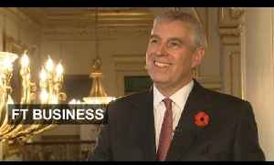 Prince Andrew on helping start-ups succeed [Video]