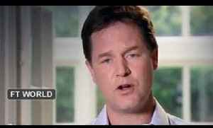 Clegg delivers 'workmanlike' speech [Video]