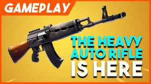 Fortnite's New Heavy Weapons Gameplay Montage [Video]