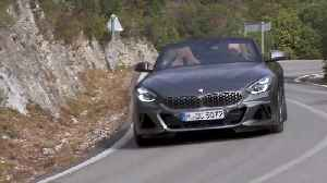 The new BMW Z4 Country Road Driving [Video]