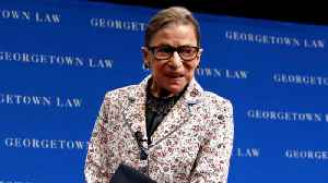 News video: Justice Ruth Bader Ginsburg hospitalized after fracturing ribs