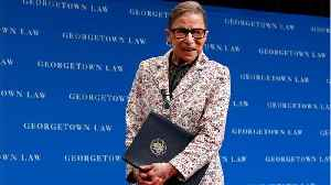 SCOTUS Justice Ginsburg Fractures 3 Ribs [Video]