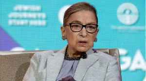 Ruth Bader Ginsburg Hospitalized After Falling & Breaking 3 Ribs [Video]