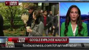 Google Announces Changes In How It'll Address Sexual Harassment Cases [Video]