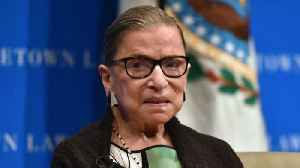 Justice Ginsburg hospitalized after falling in her office [Video]