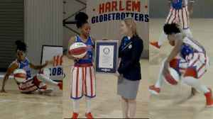 Female Harlem Globetrotter Is First to Break Guinness World Record [Video]