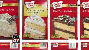 Duncan Hines cake mixes recalled for salmonella [Video]
