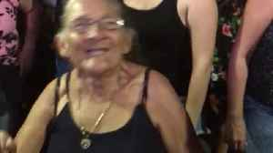 Grandmother Joins in the Fun at Concert [Video]
