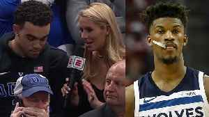 Jimmy Butler Chartered A Plane For Tyus Jones So He Could See His Brother Tre's Duke Debut [Video]
