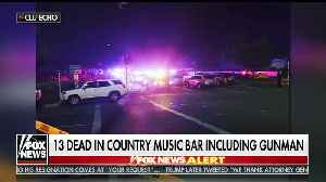 13 people killed including shooter in California bar shooting [Video]