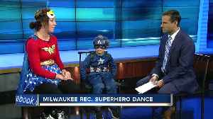 Mom & son superhero night is Saturday [Video]