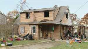 Firefighters Home Badly Damaged By Fire [Video]