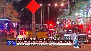 Residents evacuated after gas line rupture in Southwest Baltimore [Video]