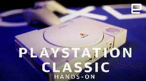 PlayStation Classic Hands-On: Nostalgia in a box [Video]