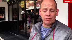 W. Spoons Manager MAKES Poppy Seller Stand in Rain [Video]