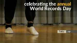 Japanese claims skip rope Guinness World Record [Video]