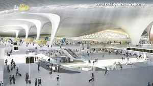 The World's Newest Airport Will Make You Feel Like an Alien [Video]