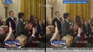 News video: Watch two versions of Acosta video side-by-side