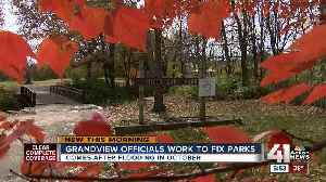 Grandview makes repairs at two city parks after October floods [Video]