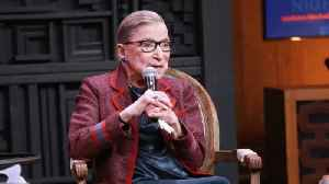 Justice Ruth Bader Ginsburg in Hospital After Fall [Video]