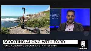 Why Ford is Taking a Chance on E-Scooter Start-up Spin [Video]
