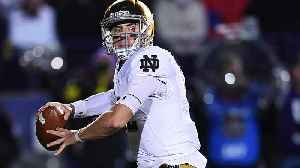 Reports: Notre Dame QB Ian Book Out for Game vs. Florida State [Video]