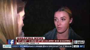 1 October survivors were inside CA bar when another mass shooting took place [Video]