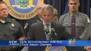 No Charges For Eric Schneiderman [Video]