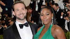 Serena Williams And Hubby Alexis Ohanian Get Fancy For A Good Cause [Video]