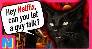 News video: What if Salem TALKED in The Chilling Adventures of Sabrina?(Netflix)