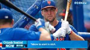 Tebow! Timmy to start in Triple-A [Video]