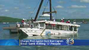 Charges Filed Against Captain Of Duck Boat That Sank, Killed 17 People [Video]