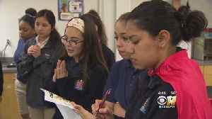 Girls-Only Team From Fort Worth's Young Women's Leadership Academy Set To Battle [Video]