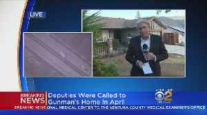 Deputies Were Called To Thousand Oaks Gunman's Home In April [Video]