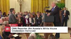 Jim Acosta Isn't Getting In The White House
