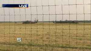 More Troops Arrive at Edinburg Airport [Video]