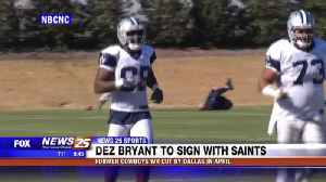Dez Bryant to sign with Saints [Video]