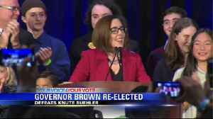 Gov. Brown Re-Elected [Video]
