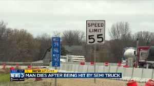 Officials emphasize highway safety after Illinois man with flat tire struck, killed by semi on I-90 [Video]