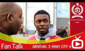 Arsenal 3 Man City 6 - Bad Performance But Were Still Top Of League [Video]