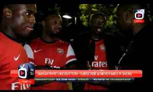 News video: Arsenal FC - Mesut Ozil is World Class say Fans At The Emirates - ArsenalFanTV.com