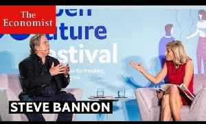 Steve Bannon interviewed by Zanny Minton Beddoes | The Economist [Video]