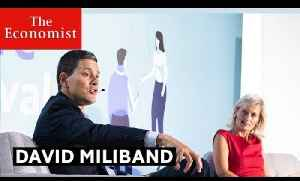David Miliband on the future of liberalism | The Economist [Video]