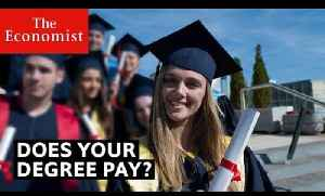 University: does a degree pay? | The Economist [Video]