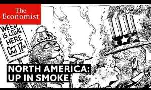 From cannabis to climate change: North America's burning issues | The Economist [Video]