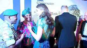 News video: Prince William and Kate attend Tusk Conservation Awards