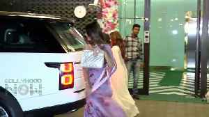 Arpita Khan Grand Diwali party - Salman & family, Jacqueline, Iulia, Sonakshi and Others attend [Video]