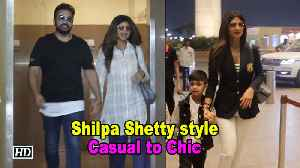 Casual to Chic- The Shilpa Shetty style [Video]