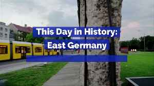 This Day in History: East Germany Opens the Berlin Wall [Video]